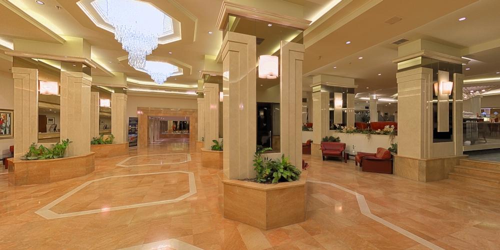 Shalom hotel jerusalem lobby1b israel jerusalem hotels for Hotels jerusalem